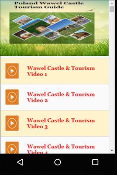 Poland Wawel Castle Tourism Guide poster