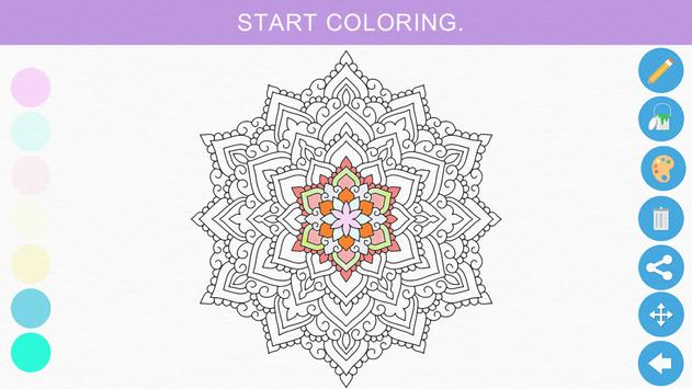 Zen Coloring Book For Adults Apk Screenshot