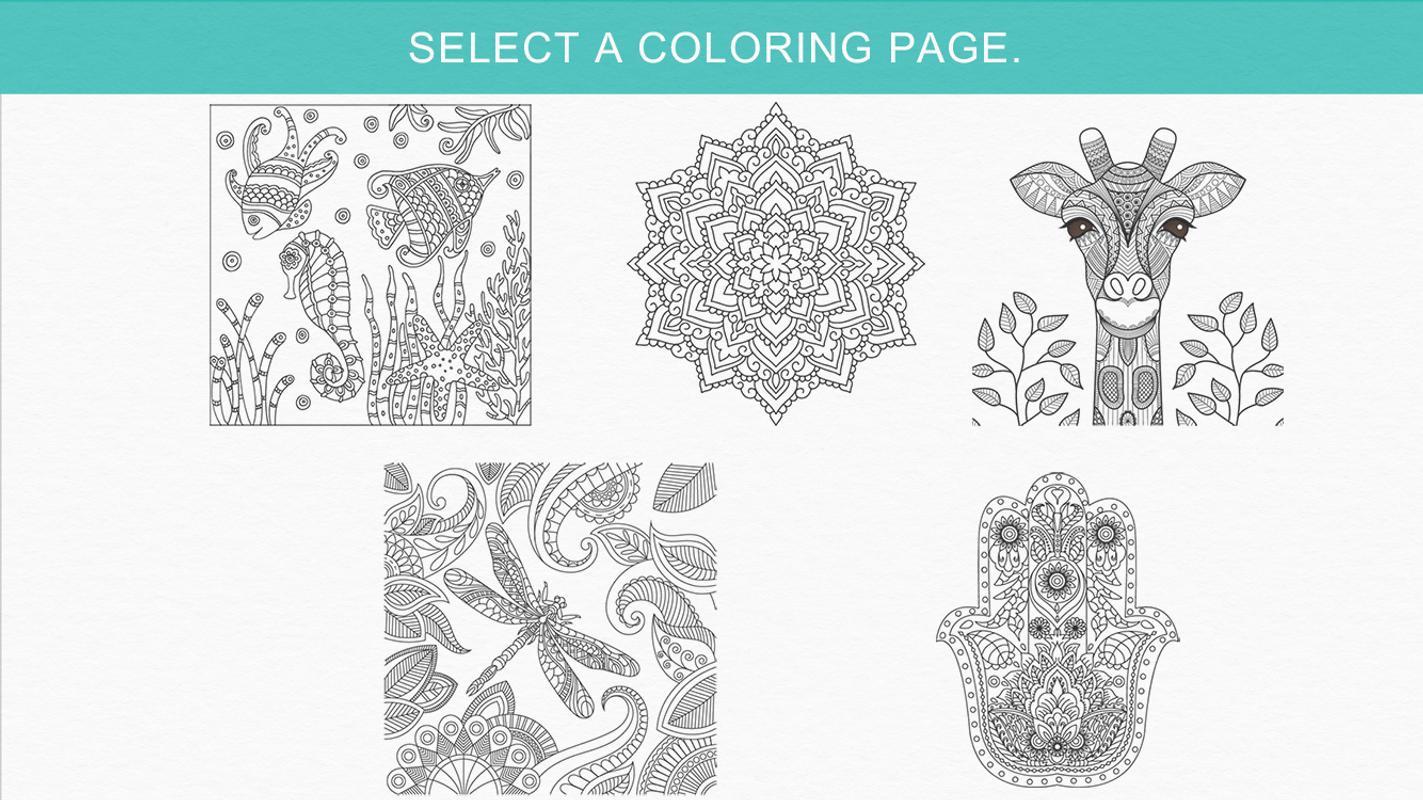 Livros De Colorir Para Adultos: Livro Para Colorir Adultos. Para Android