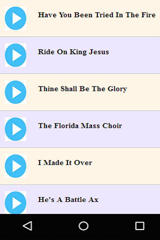 Old Gospel Choir Songs 70's-90's for Android - APK Download