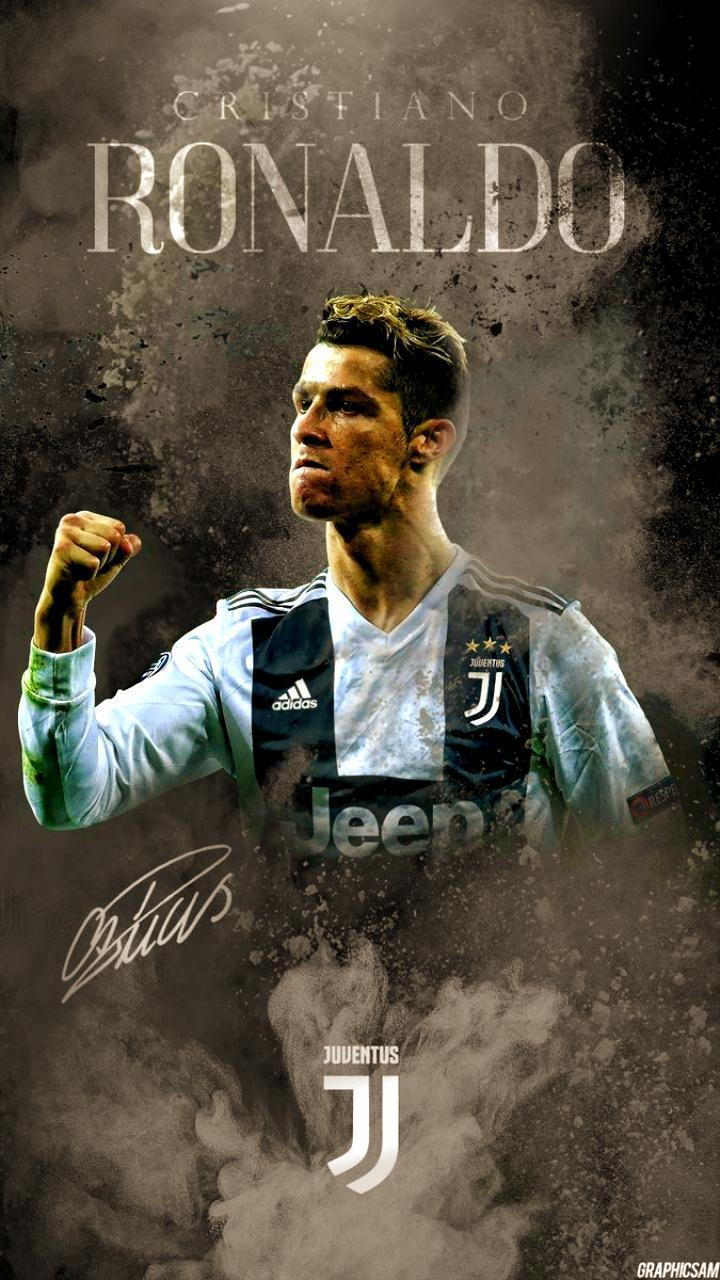 Cristiano Ronaldo In Juventus Wallpaper For Android Apk