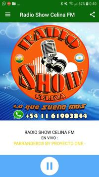 RADIO SHOW CELINA FM poster