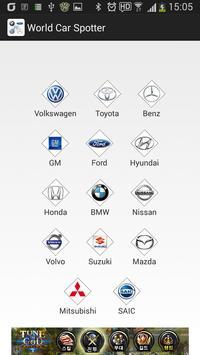 World Car Spotter poster