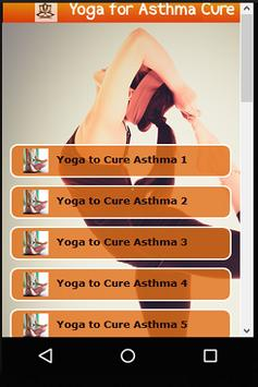 Yoga Asanas for Asthma Cure poster