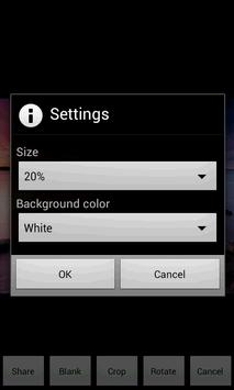 Watermark Blank apk screenshot