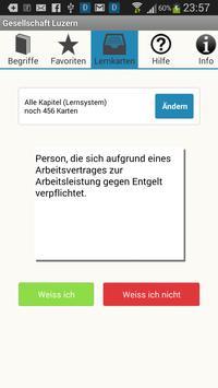Gesellschaft Luzern apk screenshot