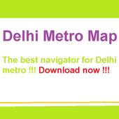 Delhi Metro Map icon