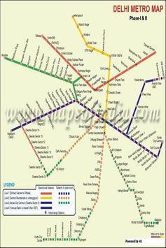 Delhi Metro Map apk screenshot