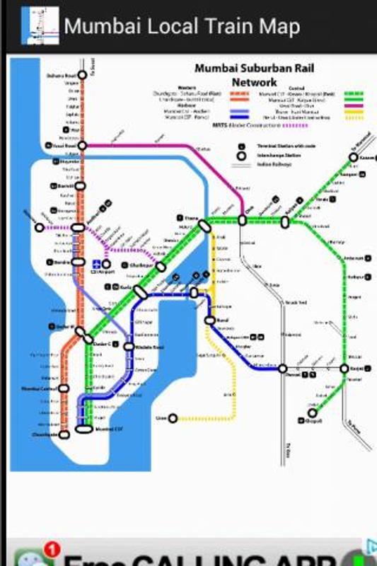 Mumbai local train time table app download