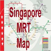 Singapore Offline MRT map icon