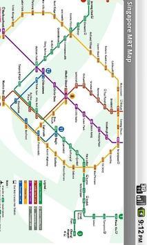 Singapore Offline MRT map screenshot 5
