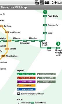 Singapore Offline MRT map screenshot 6