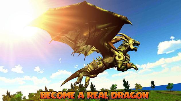 Flying Dragon Simulator poster