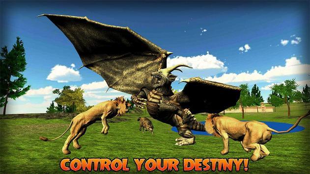 Flying Dragon Simulator apk screenshot