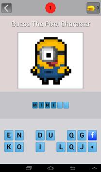 Guess: Pixel Character Quiz screenshot 1