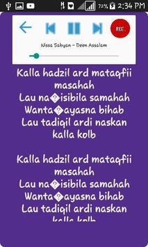 Lagu Karaoke Nissa Sabyan screenshot 1