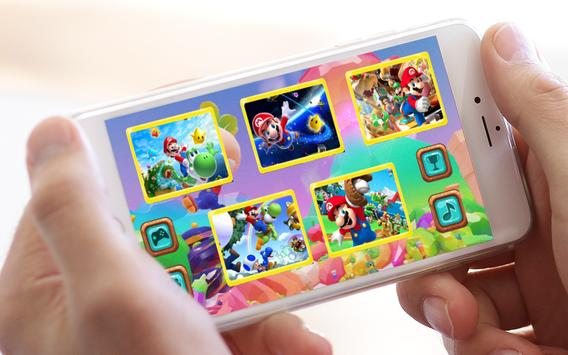 Jigsaw Kids Mario apk screenshot