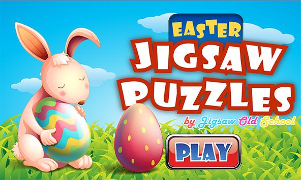 Bunny Easter Jigsaw Puzzles poster