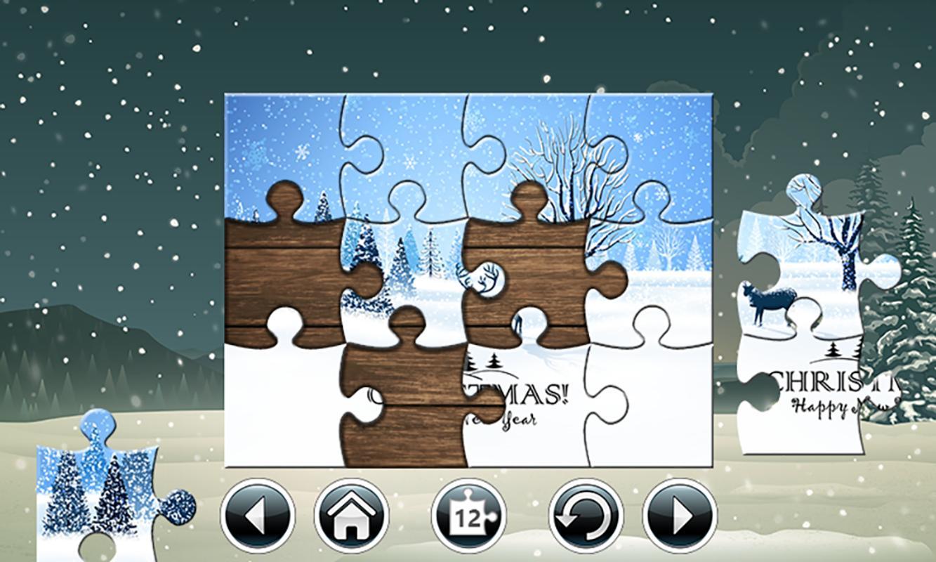 christmas jigsaw puzzles free apk screenshot