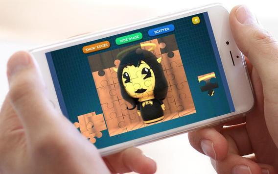 Jigsaw Bendy Puzzle Toys screenshot 3