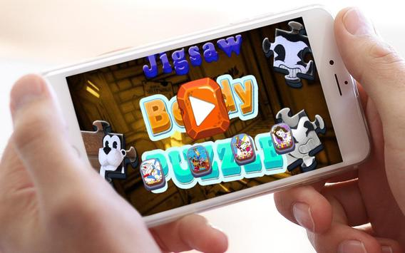 Jigsaw Bendy Puzzle Toys poster
