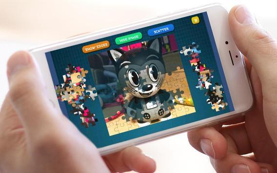 Jigsaw Bendy Puzzle Toys screenshot 6
