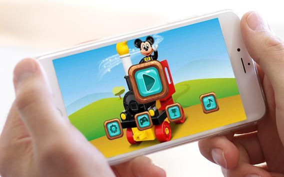 Jigsaw Lego Mickey Toys poster