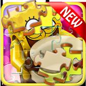 Jigsaw Lego Sponge icon