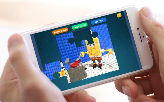 Jigsaw Lego Sponge apk screenshot