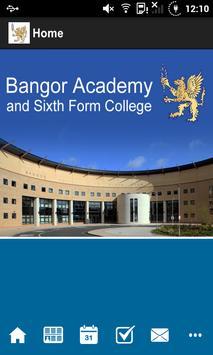 Bangor Academy and Sixth Form poster