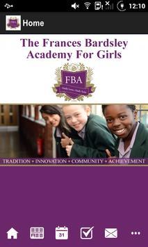 The Frances Bardsley Academy poster