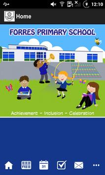 Forres Primary School poster