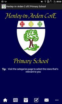Henley-in-Arden Primary School poster