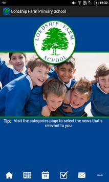 Lordship Farm Primary School poster