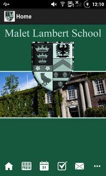 Malet Lambert School poster