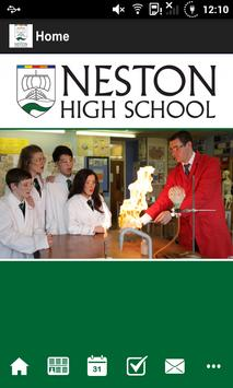 Neston High School poster