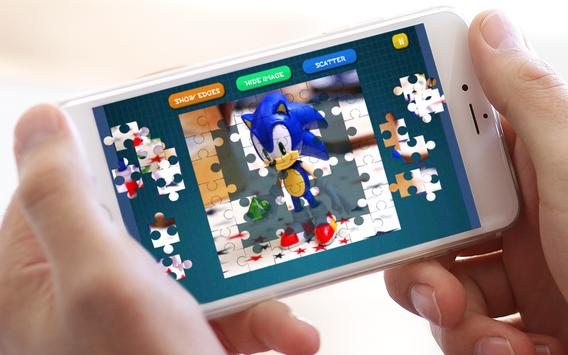 Jigsaw Sonic Puzzle Toys screenshot 4