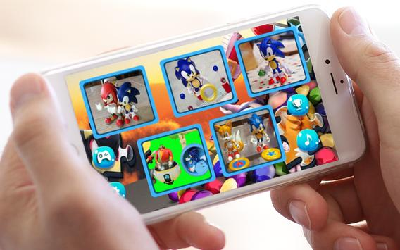 Jigsaw Sonic Puzzle Toys screenshot 1