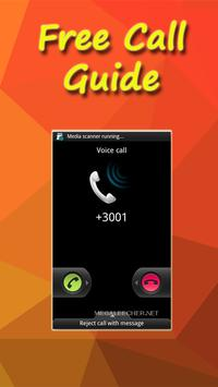 Guide For Free Call poster