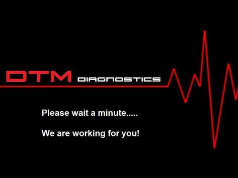 DTM Diagnostics poster