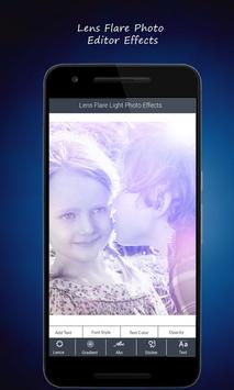 Lens Flare Light Photo Effects poster
