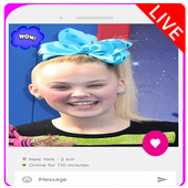 Live Chat Video With Jojo Siwa Prank icon