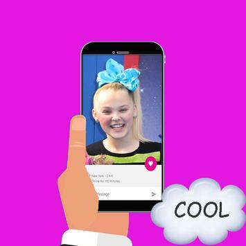 Live Chat Video With Jojo Siwa Prank poster