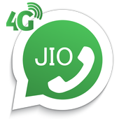 How to call Jio4Gvoice icon