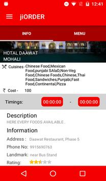 jiORDER - Online Food Ordering apk screenshot