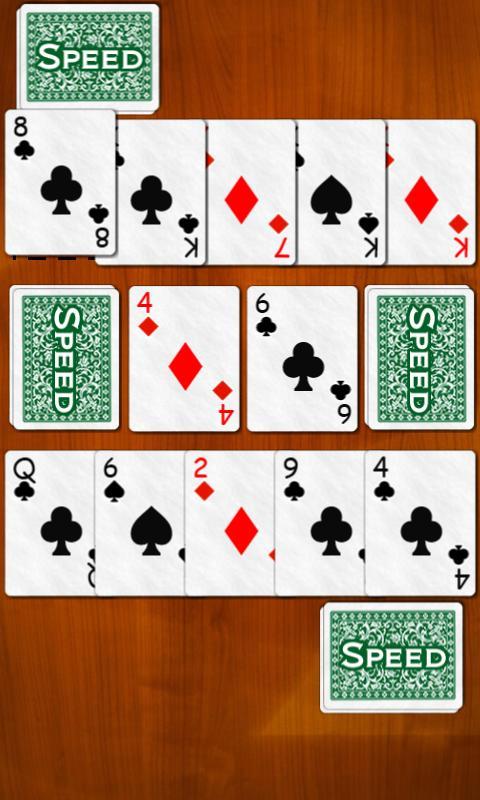 Speed card game (spit slam) | 1mobile. Com.