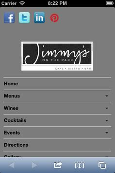 JimmysCafe screenshot 1