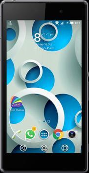 eXperiaz Theme - Circle's Blue poster