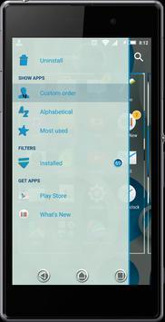 eXperiaz Theme - Circle's Blue apk screenshot