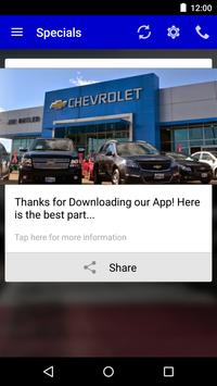 Jim Butler Chevrolet DealerApp apk screenshot